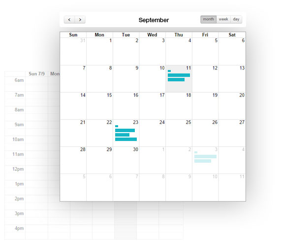 Joincube calendar feature